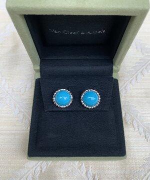 VCA Perlee Turquoise earrings.jpg