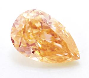 Yellowish Orange Diamond