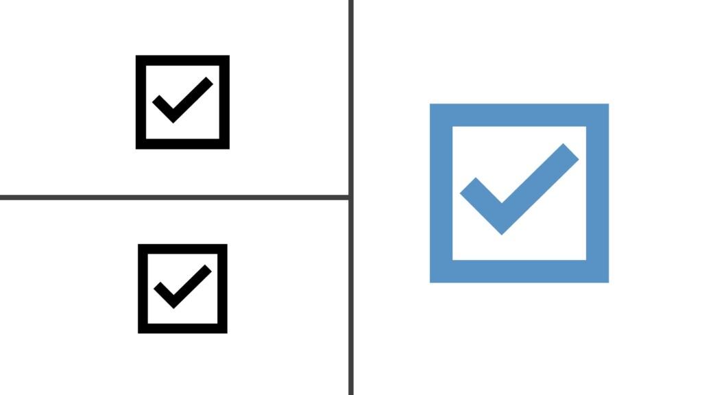 Diamond 4Cs - Three check marks