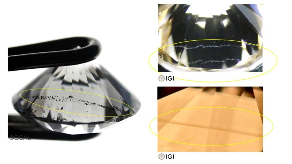 lab grown diamonds - planar inclusions in cvd grown diamonds