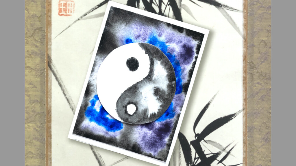 yin yang painting