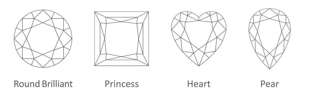 Diamond 4Cs: Shapes