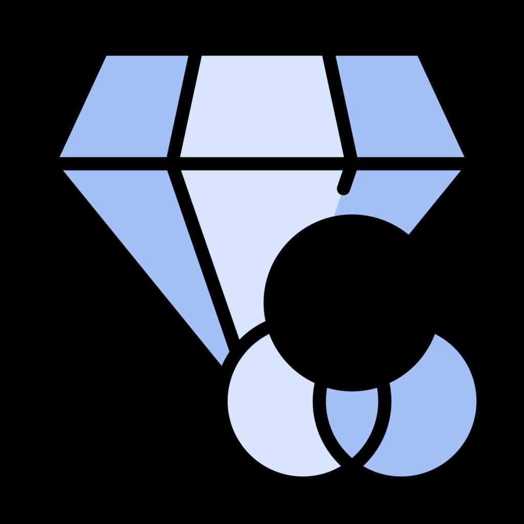Diamond Color Icon