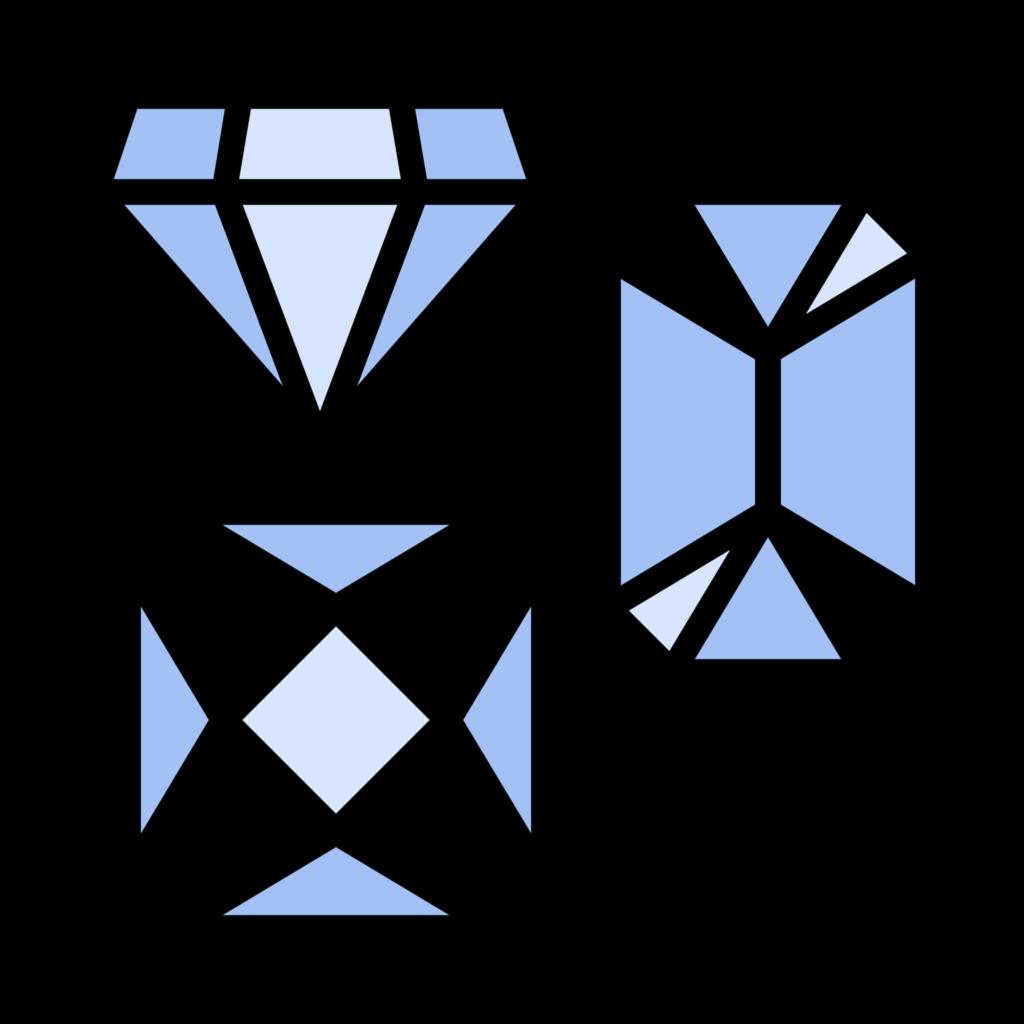 Diamond Shapes Icon