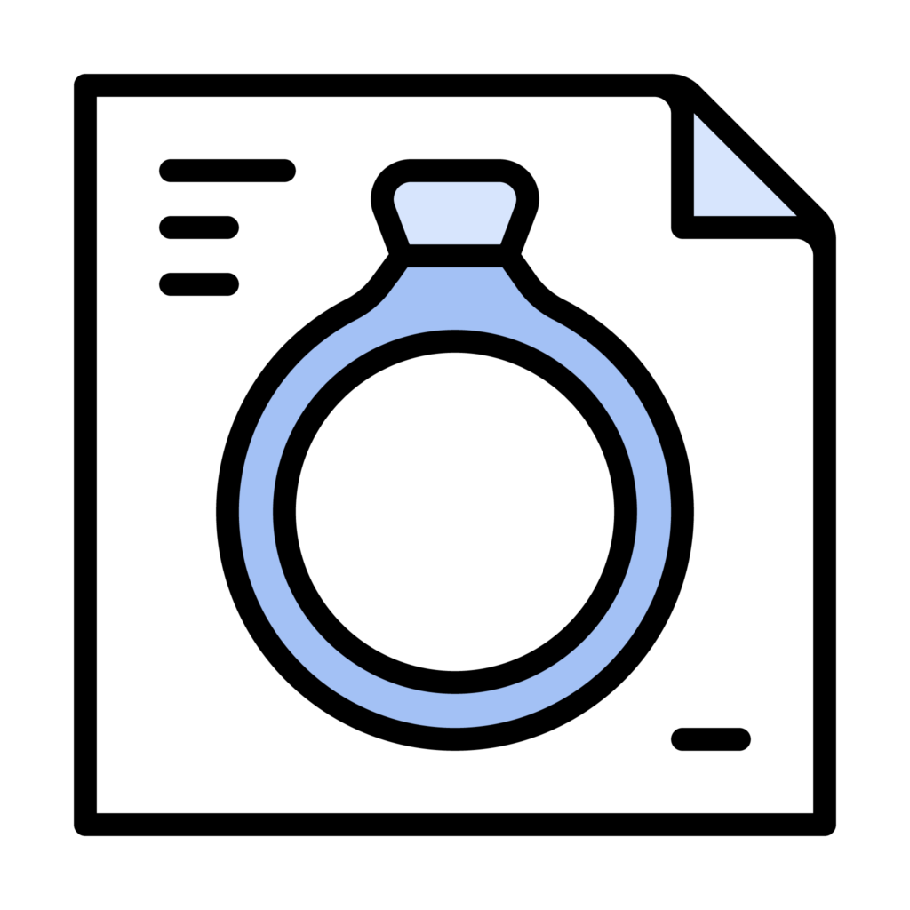 Ring Setting Anatomy Icon