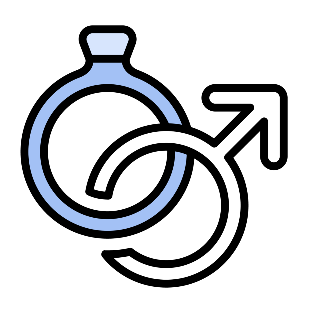 Mens engagement rings icon