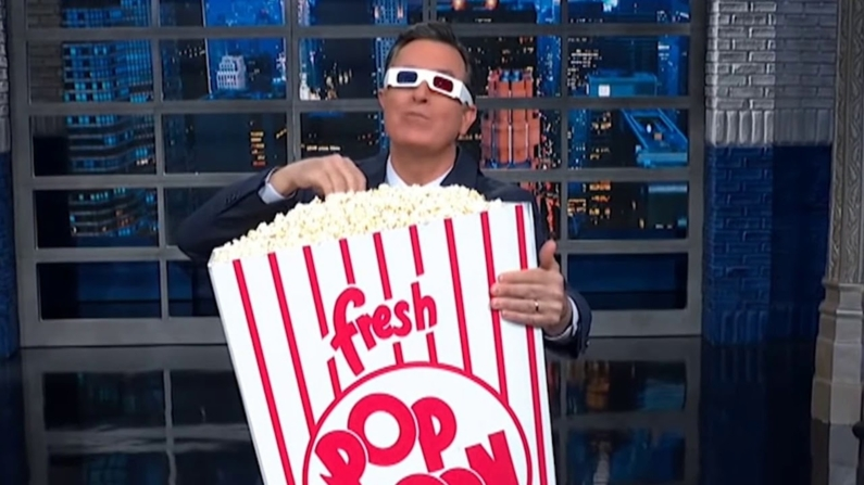 Steven Colbert Popcorn