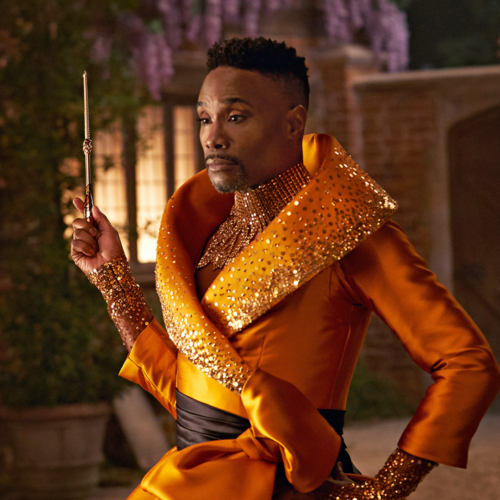 Billy Porter as Fab G., the Fabulous Godmother.