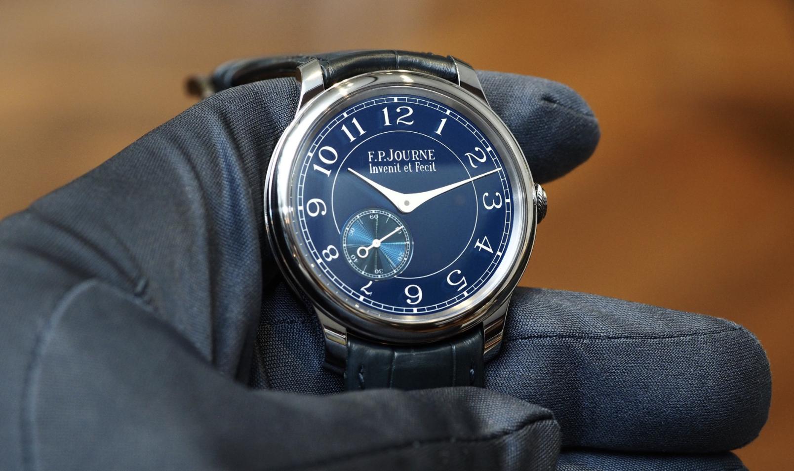 F.P. Journe Chronomètre Bleu.
