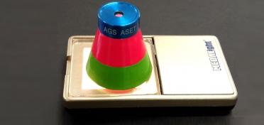 Diamond ASET scope: American Gem Society AGS scope